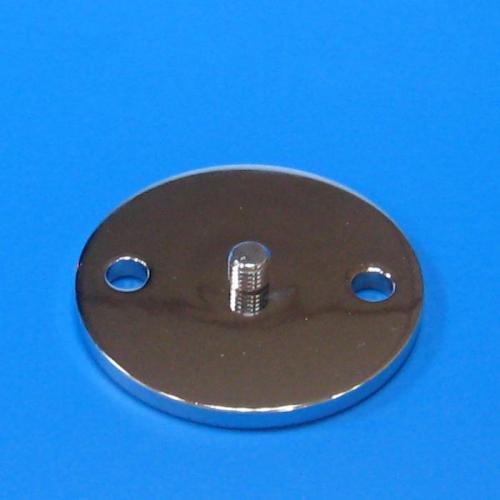 122602 鐵製圓型底板 銀色