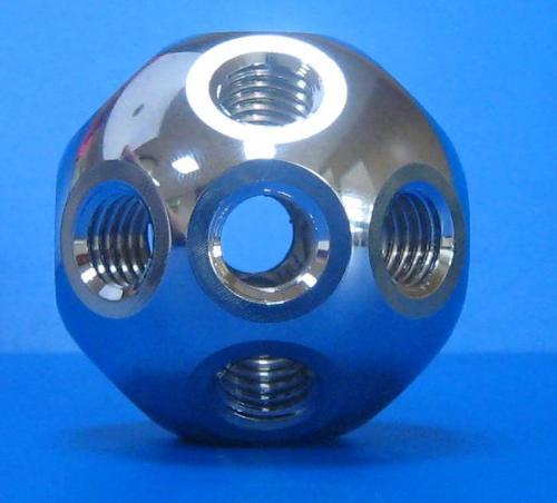 501201 鋁質標準型接頭 銀色