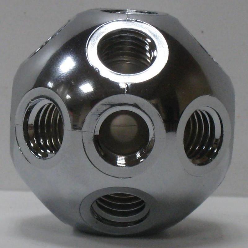 501305 塑膠標準型接頭 銀色