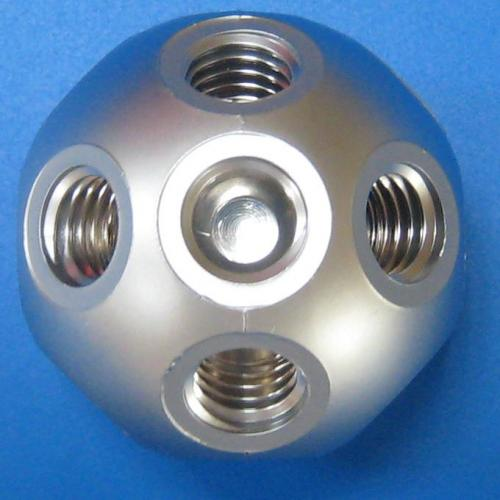 501306 塑膠標準型接頭 鋁色