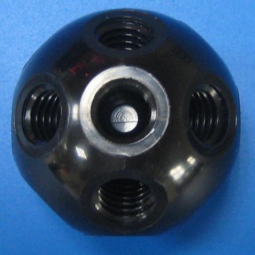 501307 塑膠標準型接頭 黑色
