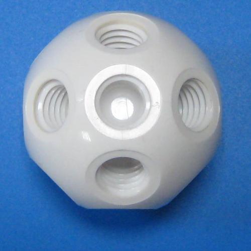 501309 塑膠標準型接頭 白色