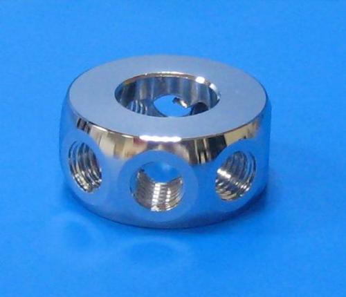 503101 8孔45度環接頭 銀色