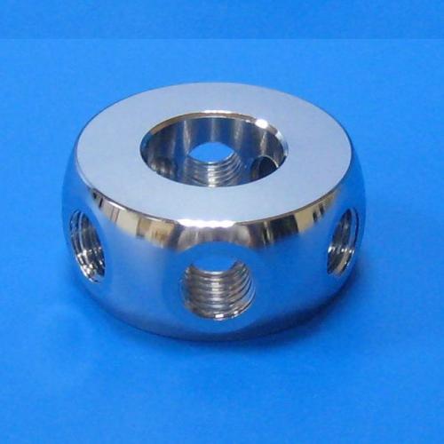 503201 6孔60度環接頭 銀色