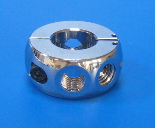 503301 半開型環接頭 銀色